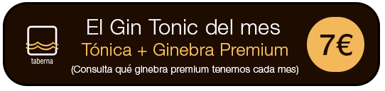 Banner Gin Tonic del mes